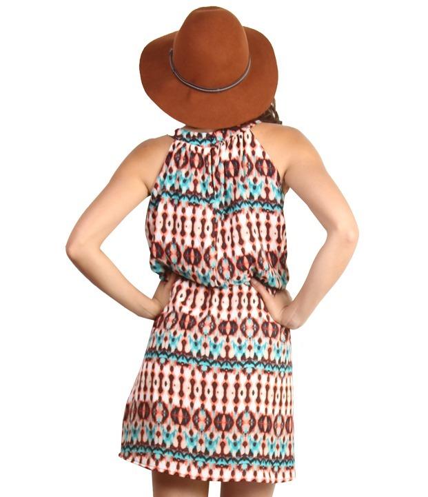 0ae547c07a Vestidos Casuales Hermosos Cuello Halter -   160.00 en Mercado Libre