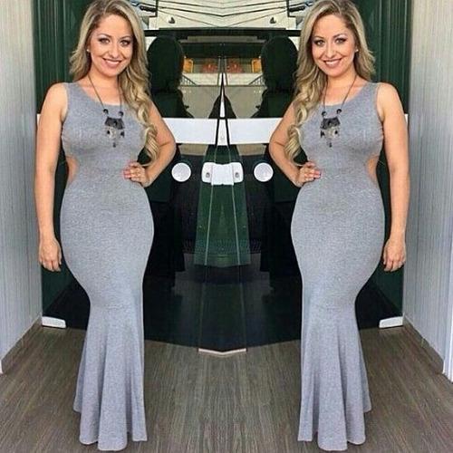 vestidos casuales largos  modernos playeros .