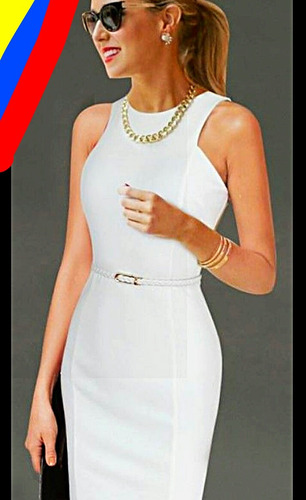 vestidos casuales y coctel para damas elegantes y la moda