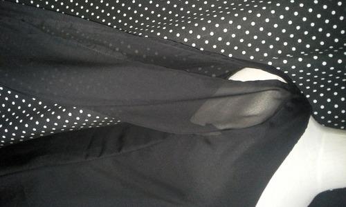 vestidos chiffon manga larga casuales cortos unicolores