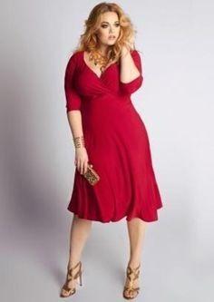 vestidos coctel casuales elegantes para gorditas tallas plus
