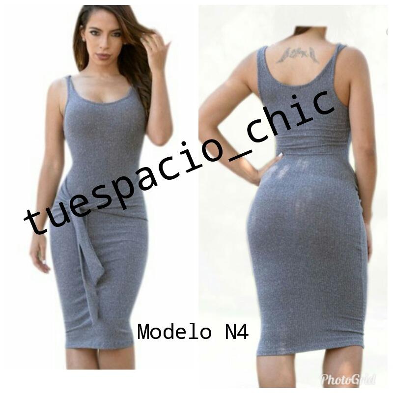 Vestidos Con Amarre En La Cintura - Bs. 950 f892049e7308