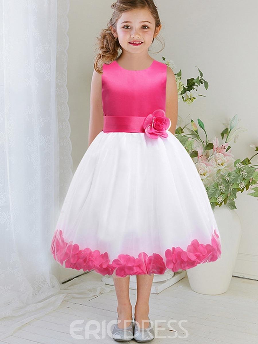 a87a064e5 Vestidos Con Pétalos Rosas Niñas Bebes Para Bautizo