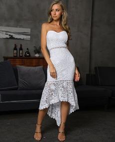 Vestidos Cortos Blancos Casuales