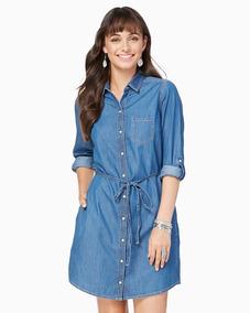 Vestidos Cortos Charming Charlie Azul Jean Talla L