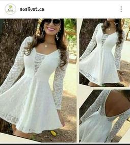 Vestidos Cortos De Encaje Y Trasparencias Casuales Princesa