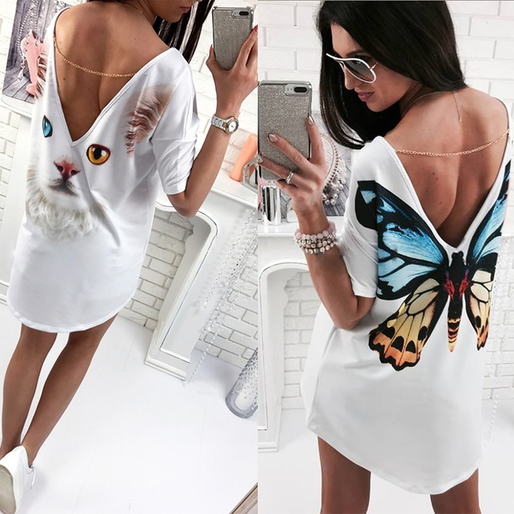 vestidos cortos lanzamiento verano nuevos modelos 2019. Cargando zoom. b7efb4bdc265