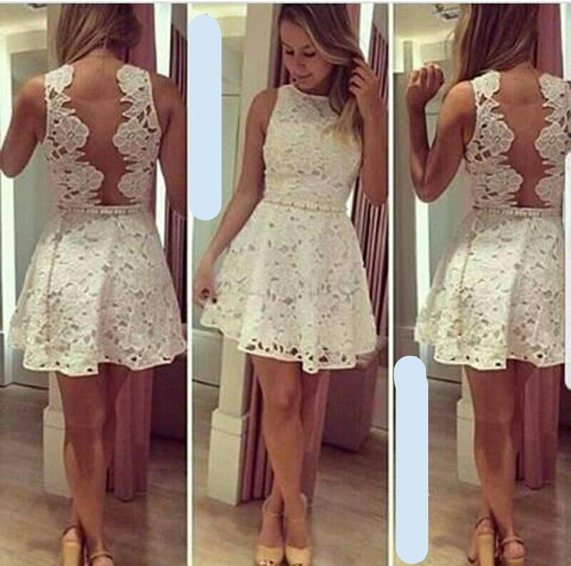 808dacd3b vestidos cortos -largos encaje y blonda casuales y elegantes. Cargando zoom.