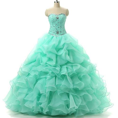 vestidos de 15 años  color a eleccion hermosooo!!