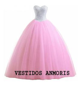 7af222104 Vestido Tul Bordado - De 15 de Mujer, Usado en Mercado Libre Argentina