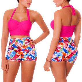 28d78fa24527 Vestidos De Baño Bikinis Short Cachetero Control Praie 1104