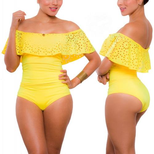 vestidos de baño enterizos boleros bikinis copas praie 1623
