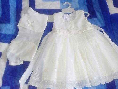 vestidos de bautizo, fiestapara bebesde 0meses a más.