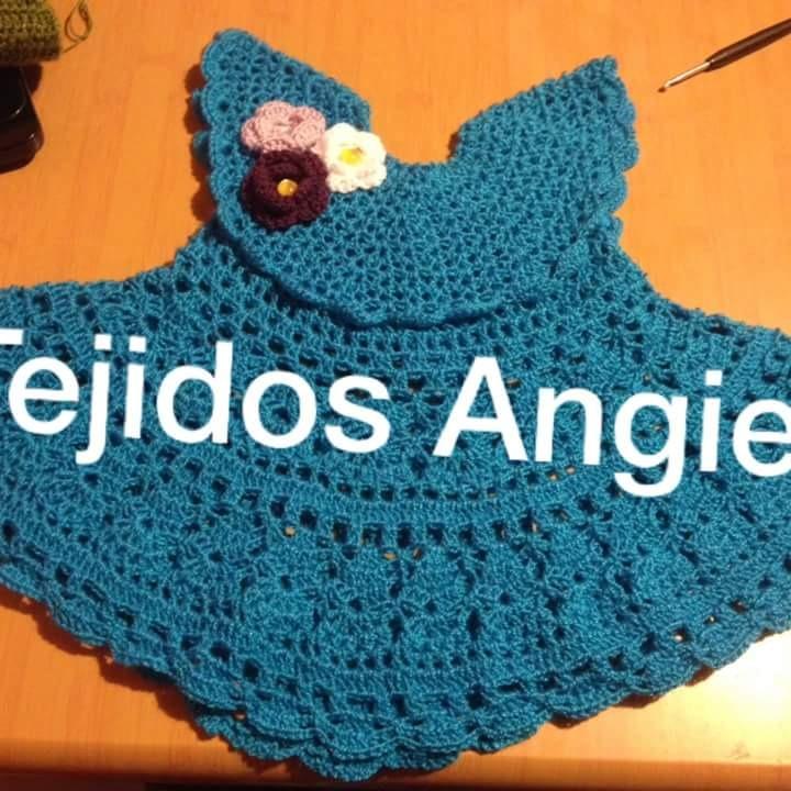 Vestidos De Bebe A Crochet Más Zapatitos - $ 16.000 en Mercado Libre