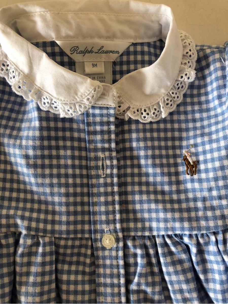 93b64c2c4 Vestidos De Bebe Nena Polo Ralph Lauren Tommy Hilfiger 9 18 -   600 ...