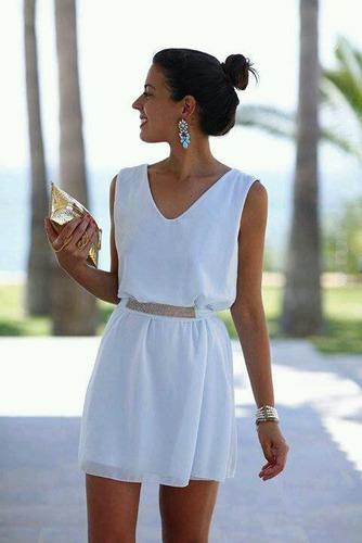vestidos de chifon casual