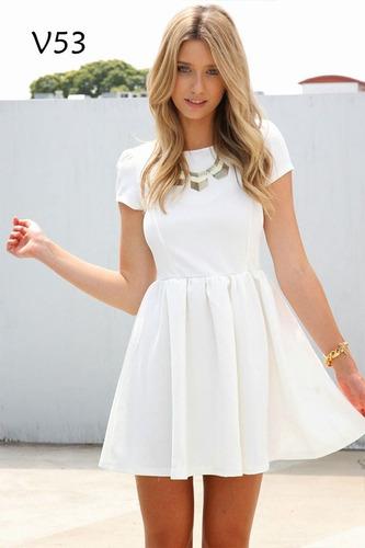 vestidos de dama casuales cortos