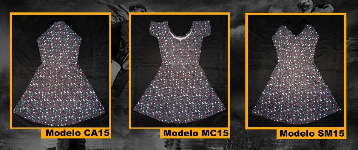 84c0ad47fb Vestidos De Dama Casuales Playeros Cortos Mayor Detal - Bs. 45.000 ...