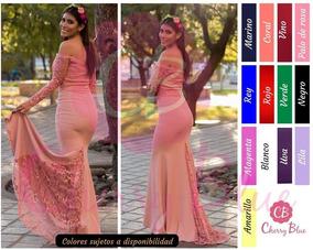 d50a514777 Vestidos Para Damas De Honor En Color Rojo en Mercado Libre México