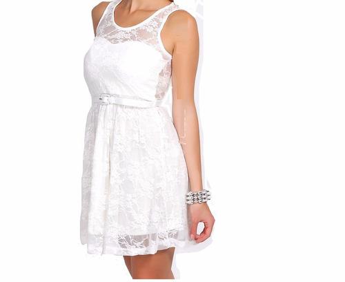 vestidos de encaje casamientos,civil,fiestas talles l al 3xl