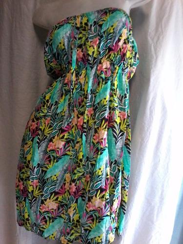 vestidos de fibrana del 1 al 4. straples