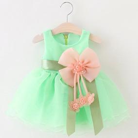 9070bd882d Vestido Para Nina Verde Jade - Vestidos en Mercado Libre Perú