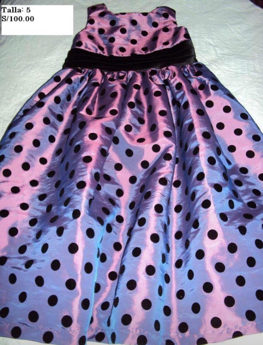 Vestidos De Fiesta De Niñas Talla 3,4 Y 5 - S/ 80,00 en Mercado Libre