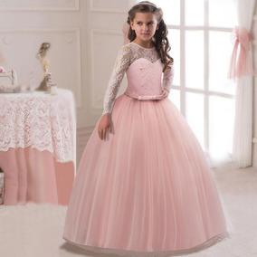 Vestidos Fiesta Adolescente De Prin Partido Girl Princesa IDEH29