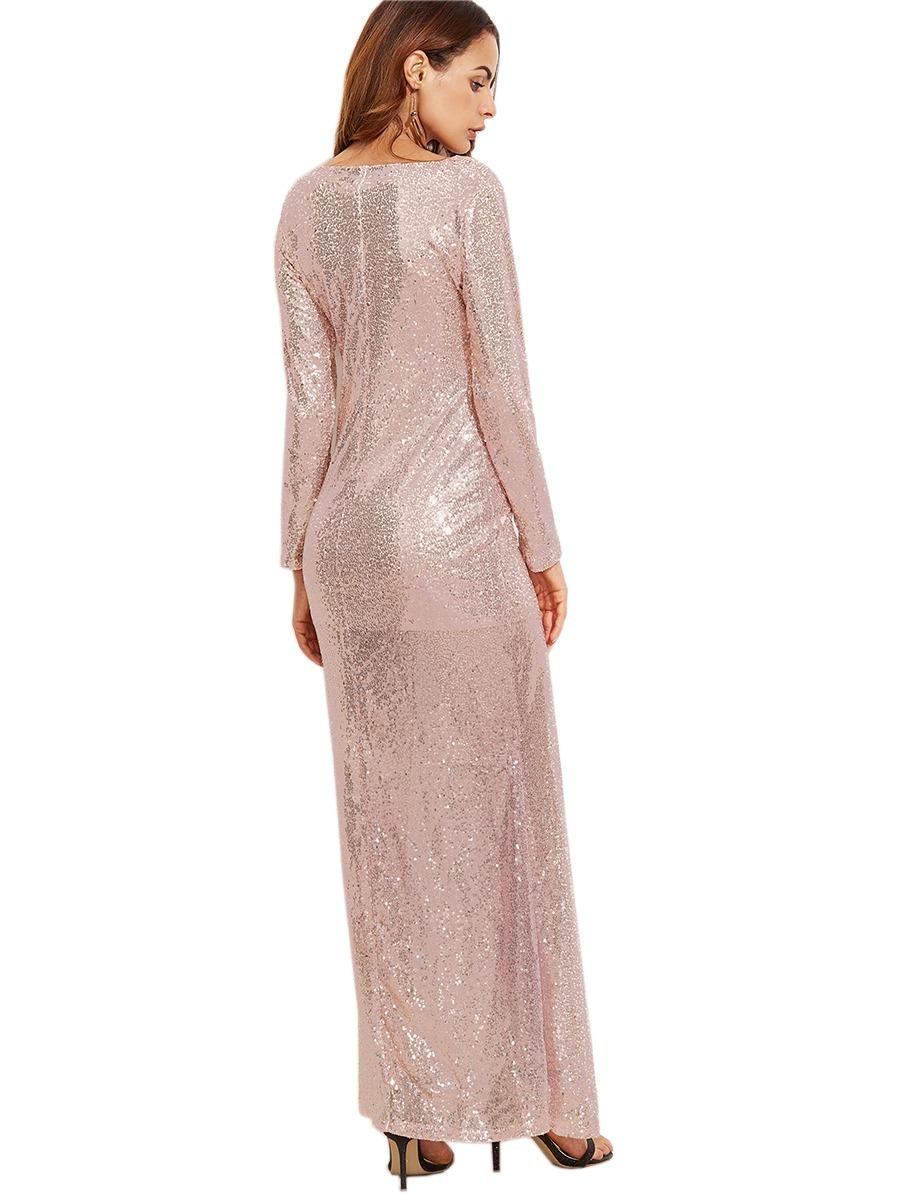 Vestidos De Fiesta Escote V Profundo Importado - $ 2.499,99 en ...