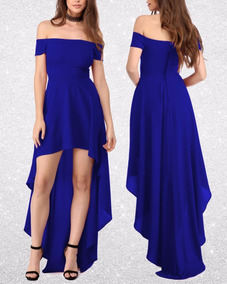 2410a6e9e Vestidos De Gala Color Azul - Vestidos en Mercado Libre Chile