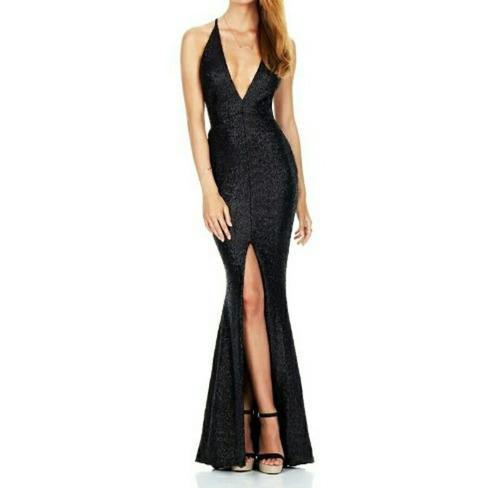 vestidos de fiesta importados largos de noche en stock