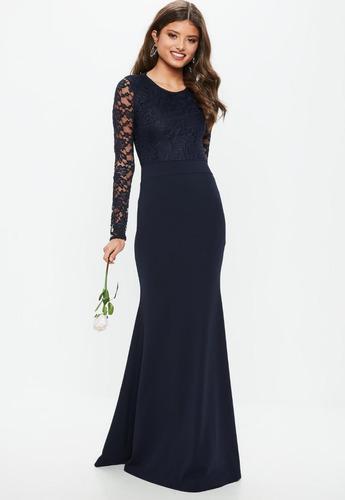 vestidos de fiesta largo coctel encaje  elegante