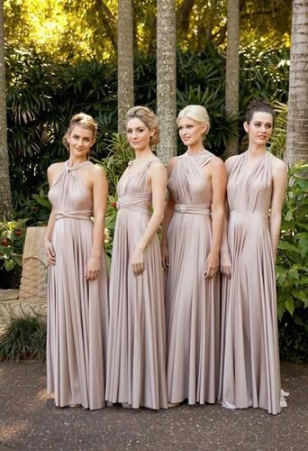 vestidos de fiesta multiuso bodas cortejos dama de honor