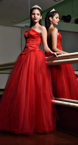 vestidos de fiesta novias corset 15 años alquiler confección