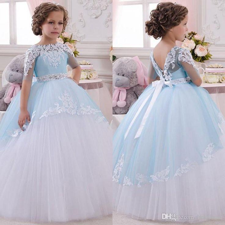 Vestidos de niрів±a elegantes para fiestas