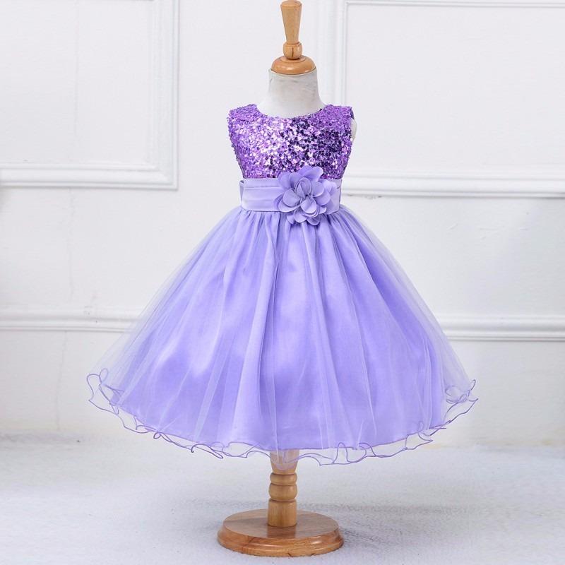 Vestidos De Fiesta Para Niñas De 4 A 6 Años Importados - S/ 88,00 en ...