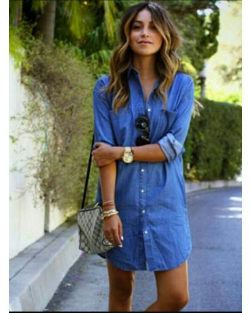 1d2305740c vestidos de jean para dama mayor y detal. Cargando zoom.