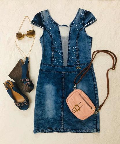 vestidos de jeans studio f, levis, forever 21 otros talla m