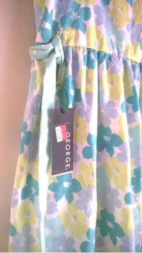 vestidos de niña casuales marca george importados nuevos