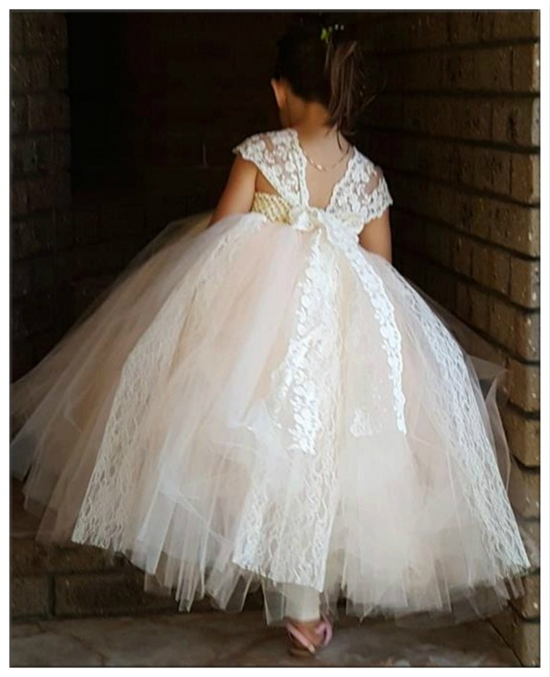 Vestidos De Niña Dama De Honor Boda Princesa Comunion 3