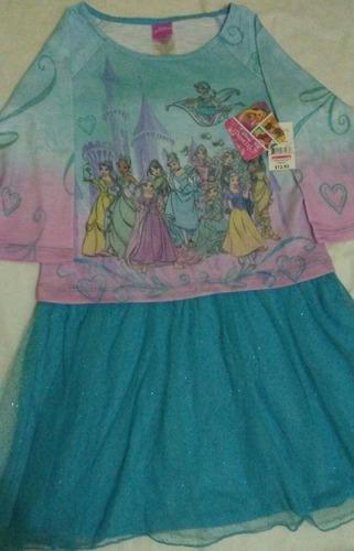 vestidos de niña princesas nuevos importa