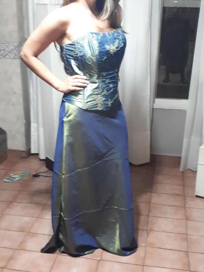 Vestidos de noche en dos piezas