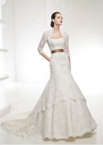 vestidos de novia 2014 a la medida bolero y encaje. - $ 5,890.00 en