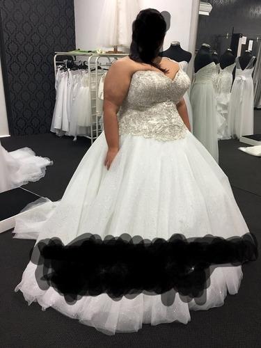 vestidos de novia a medida. todos los talles. talles grandes