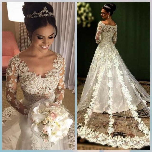 6661d92fa Vestidos De Novia Exclusivos Modelos 2017 - S  1.700
