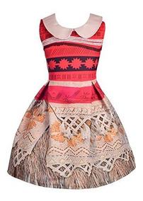 Vestidos De Princesa Daisy Girls Disfraz De Princesa Moana D