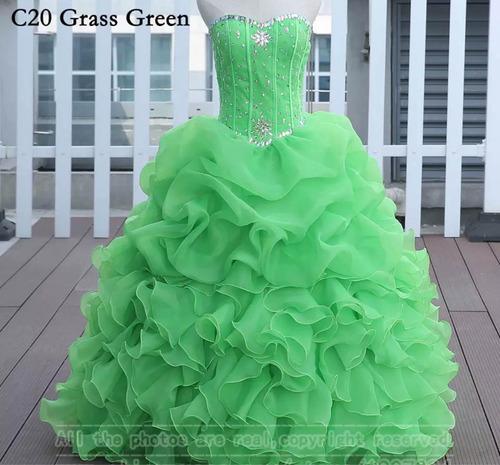vestidos de xv años quinceaños 15 años 11 colores diferentes
