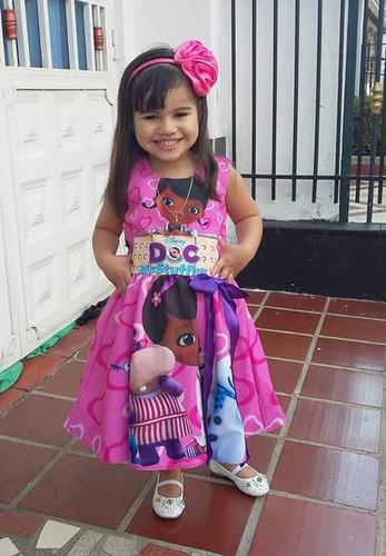 vestidos doctora juguetes talla 2 - ig