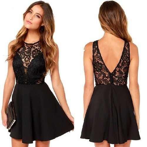 db72172238089 Vestidos Elegantes Cortos Para Damas - Bs. 10