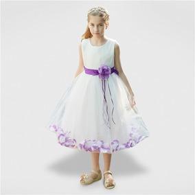 Vestidos Elegantes De Flores Para Niñas De 1 A 10 Años